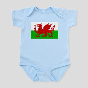 Wales Cymru Flag - High Quality Body Suit