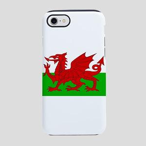 Wales Cymru Flag - High Qual iPhone 8/7 Tough Case