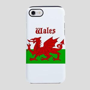 Wales Cymru Flag Baner iPhone 8/7 Tough Case