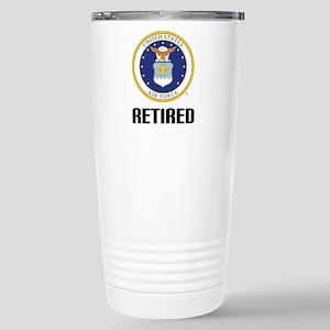 U.S. Air Force Retired Travel Mug