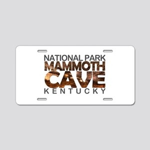 Mammoth Cave - Kentucky Aluminum License Plate