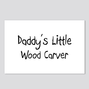 Daddy's Little Wood Carver Postcards (Package of 8