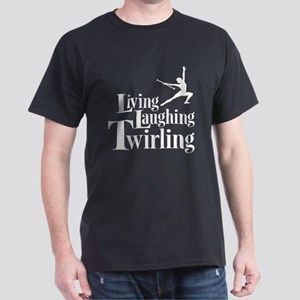 Living Laughing Twirling Dark T-Shirt