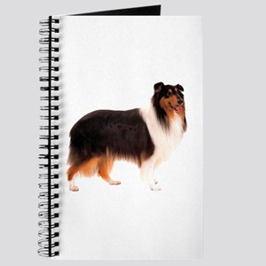 Black Rough Collie Journal