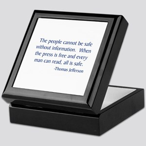 Jefferson 1 Keepsake Box
