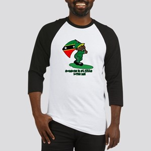 Someone in St Kitts loves me! Baseball Jersey