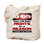 Rights for a Reason Tote Bag