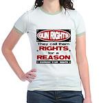 Rights for a Reason Jr. Ringer T-Shirt