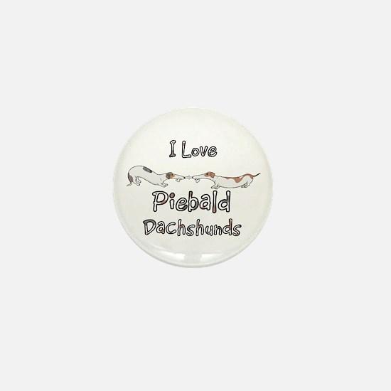 Piebald Tug O War Mini Button