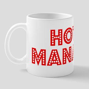 Retro Hotel Manager (Red) Mug