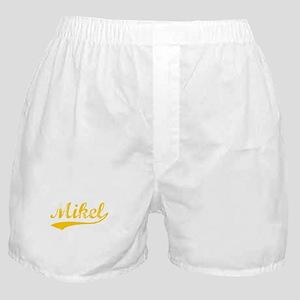 Vintage Mikel (Orange) Boxer Shorts