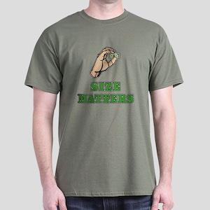 Size Matters Dark T-Shirt