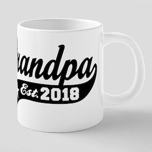 Grandpa Est. 2018 Mugs
