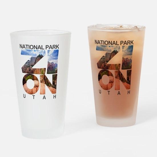 Zion - Utah Drinking Glass