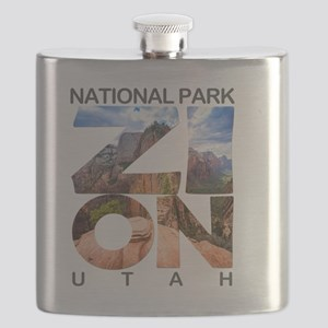 Zion - Utah Flask