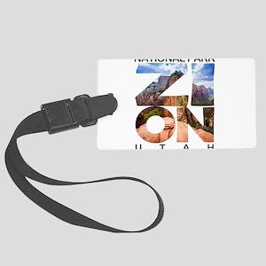 Zion - Utah Large Luggage Tag