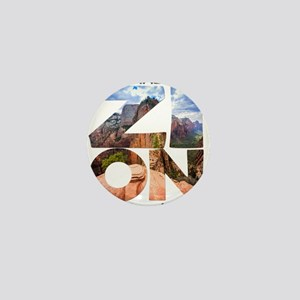 Zion - Utah Mini Button