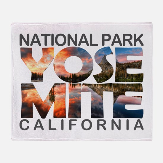 Yosemite - California Throw Blanket