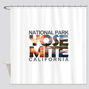 Yosemite - California Shower Curtain