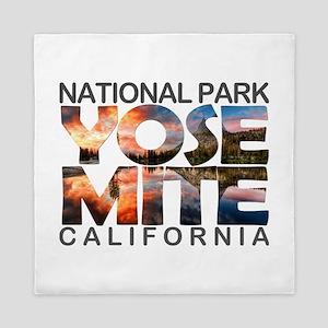 Yosemite - California Queen Duvet
