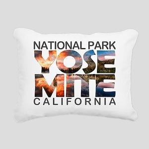 Yosemite - California Rectangular Canvas Pillow