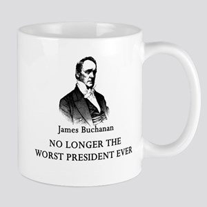 Buchanan No Longer Worst Prez Mug