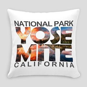 Yosemite - California Everyday Pillow