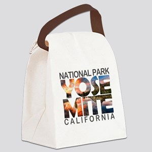 Yosemite - California Canvas Lunch Bag