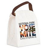 Yosemite national park Canvas Lunch Bag