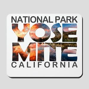 Yosemite - California Mousepad