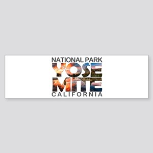 Yosemite - California Bumper Sticker