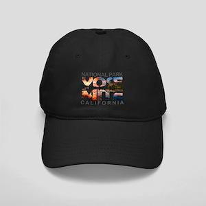 Yosemite - California Black Cap with Patch