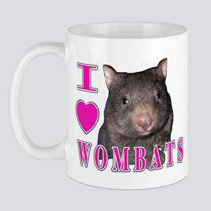 I Love ( Heart ) Wombats Mug