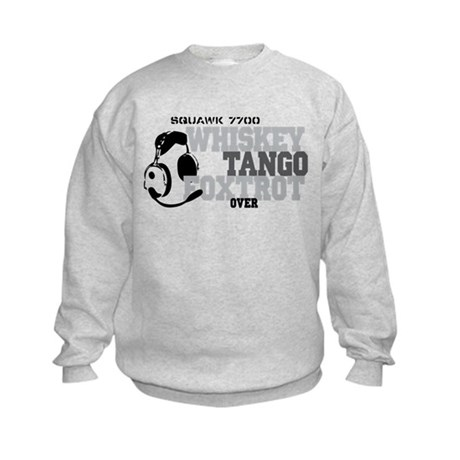 Aviation Kids Sweatshirt