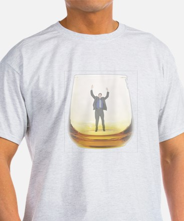 man-in-glass.png T-Shirt