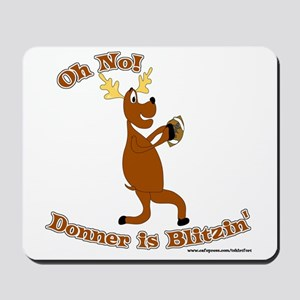 Donner is Blitzen Mousepad