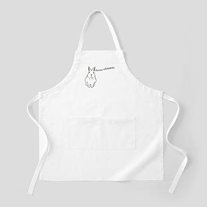 bunny whisperer BBQ Apron