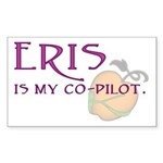 Eris Is My Co-Pilot Rectangle Sticker 10 pk)
