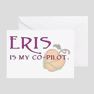 Eris Is My Co-Pilot Greeting Card