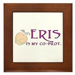 Eris Is My Co-Pilot Framed Tile