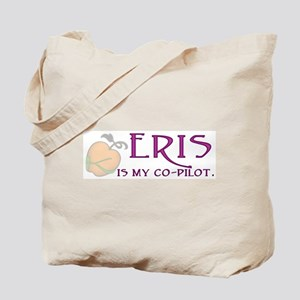 Eris Is My Co-Pilot Tote Bag