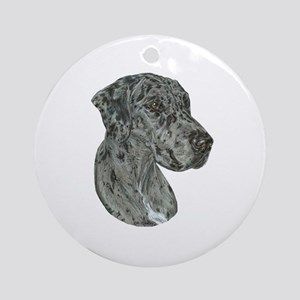 Merle Dog Ornament (Round)