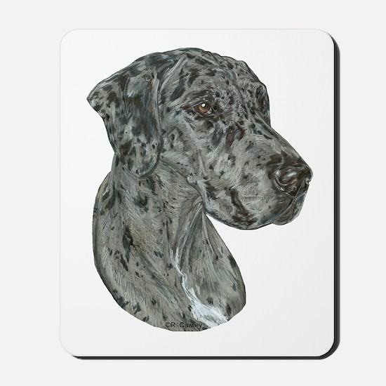Merle Dog Mousepad