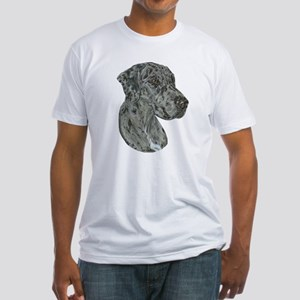 Merle Dog Fitted T-Shirt
