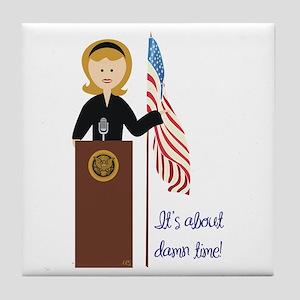 Election Equality! Hillary Tile Coaster