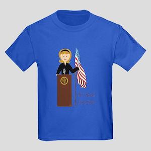 Election Equality! Hillary Kids Dark T-Shirt