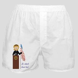 Election Equality! Hillary Boxer Shorts