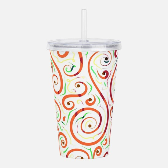 Springy graphic by Les Acrylic Double-wall Tumbler