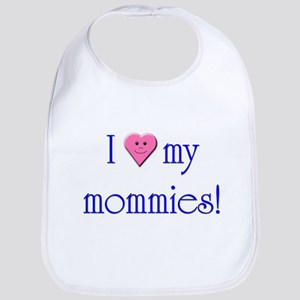 Loved by Two Moms Bib