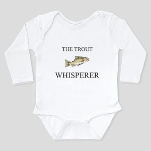 The Trout Whisperer Infant Bodysuit Body Suit